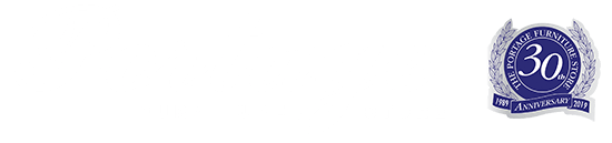 The Portage Furniture Store  Logo